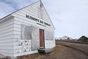 Hudson's Bay Company, Iqaluit, Nunavut.